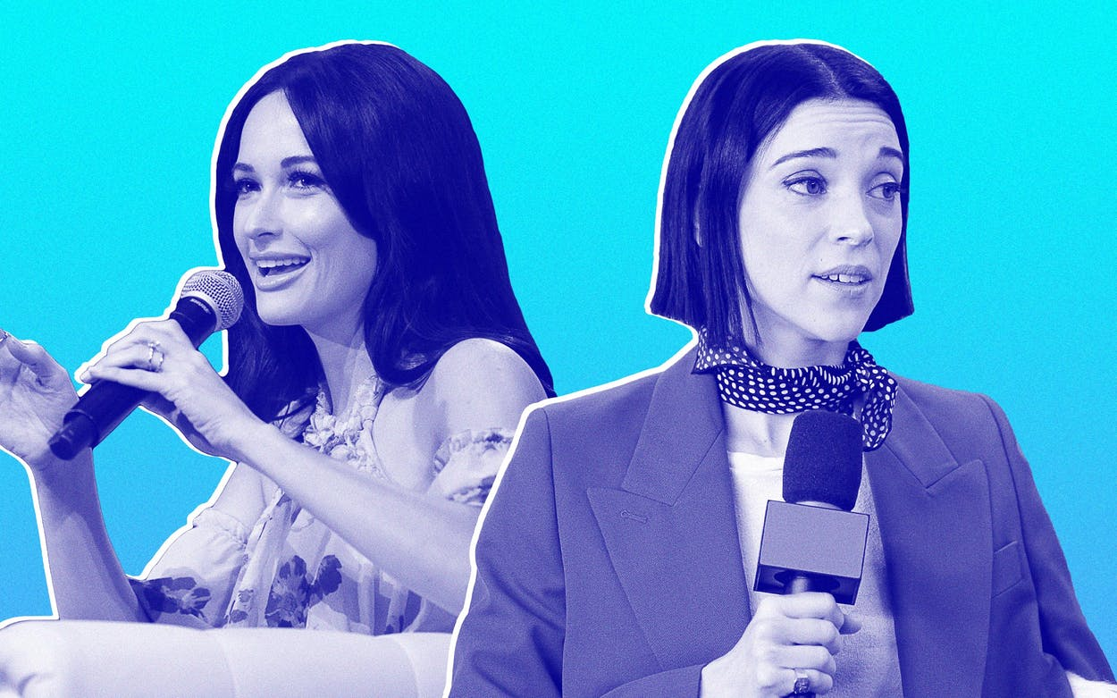 Kacey Musgraves and St. Vincent