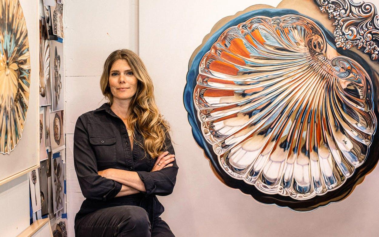 Portrait of artist Leslie Lewis Sigler.