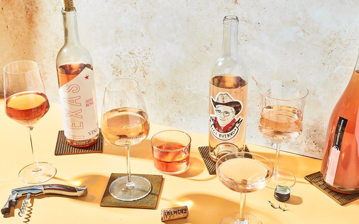 summer rosé selections