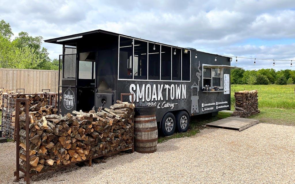 Smoak Town BBQ trailer