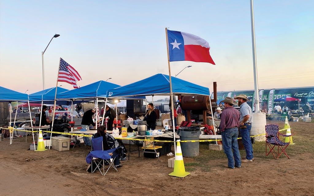 The Texas State High School BBQ Championship on April 23, 2021.