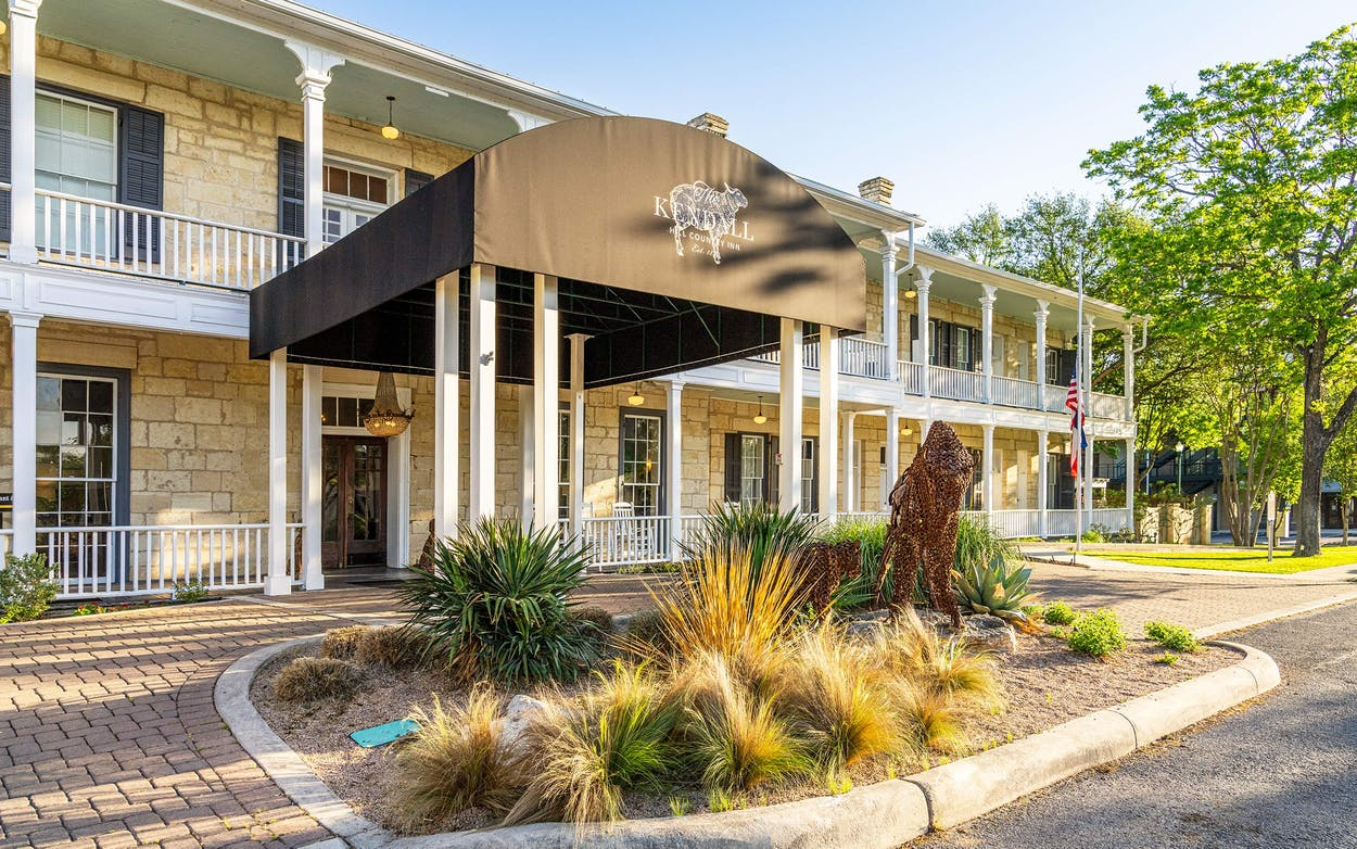 The Kendall Hotel in Boerne.