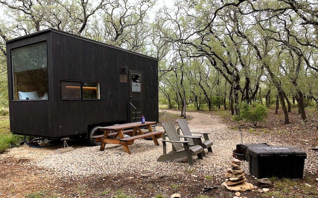 Getaway's Wimberley cabin.