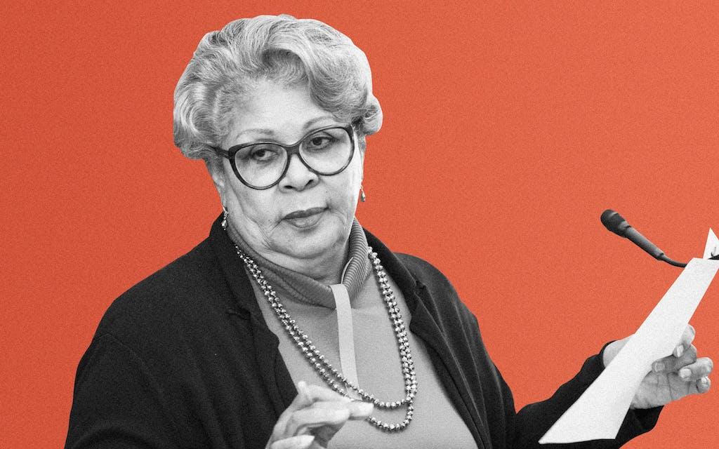 Representative Senfronia Thompson, D-Houston.