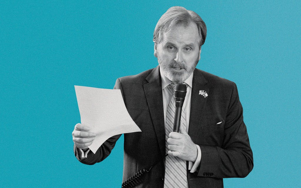 Senator Bryan Hughes, R-Mineola.