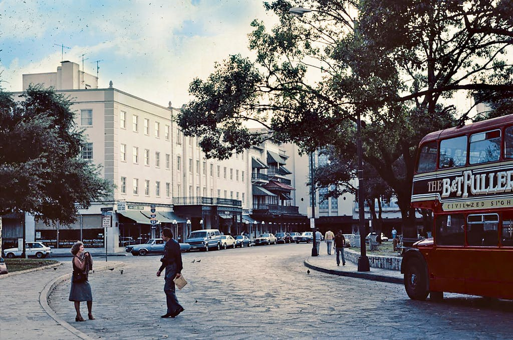 The Menger Hotel in 1980.