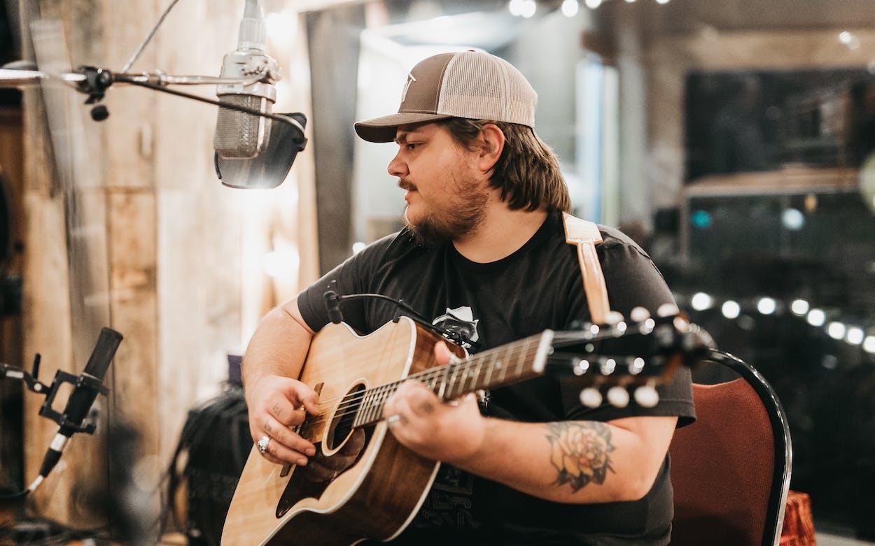 Vincent Neil Emerson at the Sound Emporium in September 2020 in Nashville, TN.