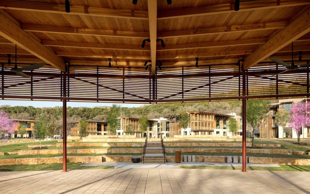 The amphitheatre holdsworth center