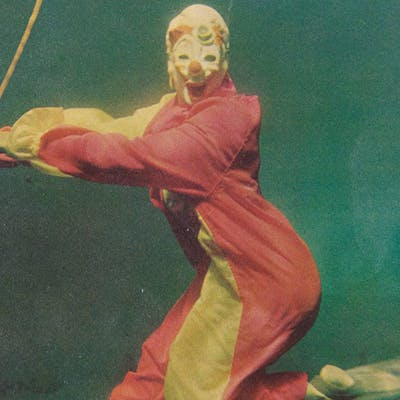 Glurpo, the underwater clown at Aquarena Springs.