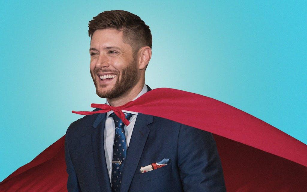 Jensen Ackles superhero