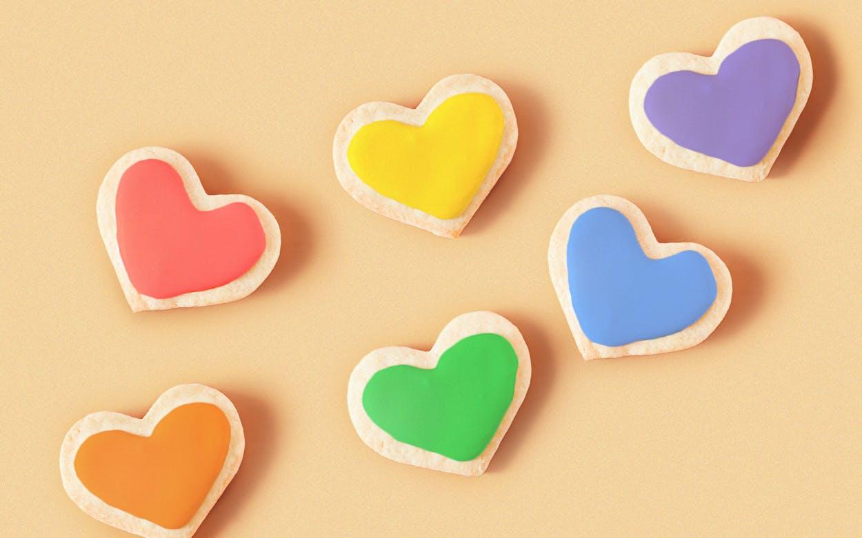 Lufkin Bakery Pride Cookies