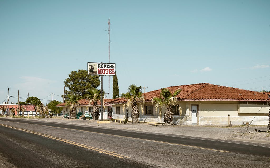 ropers motel pecos jane