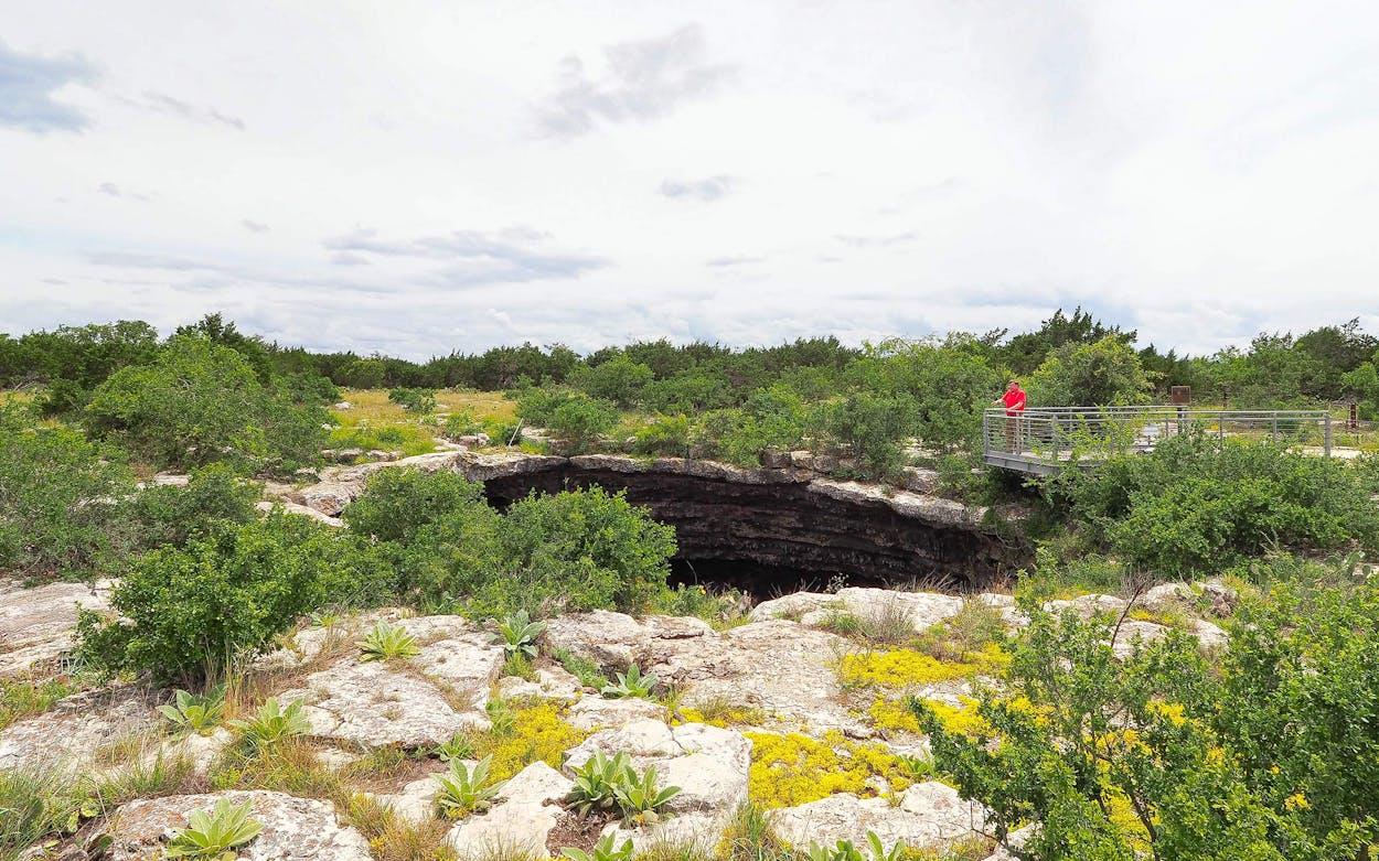 Devils Sinkhole Natural Area.
