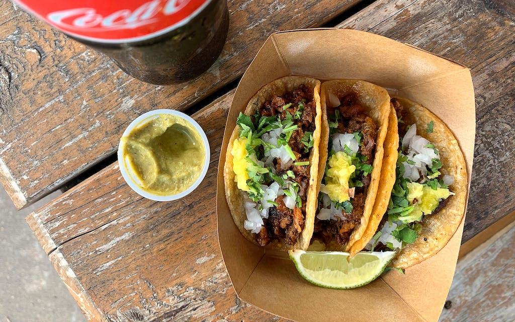 Discada tacos