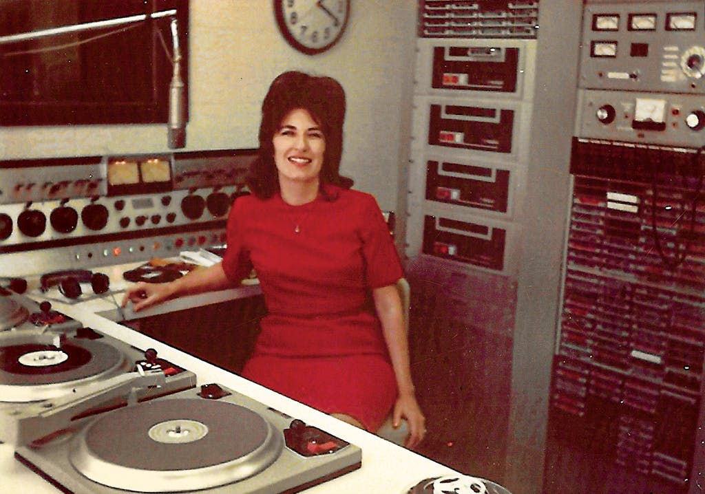 McCoy at the KMCO radio station in 1971.