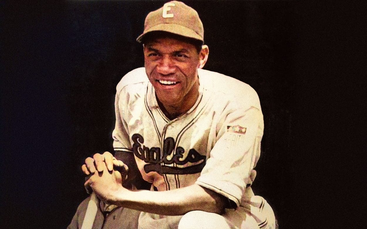 Willie Wells in a Newark Eagles uniform. Wells played for the Eagles 1936-1939, and then again in 1942 and 1945.