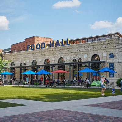 San Antonio Food Hall Pearl Brewery