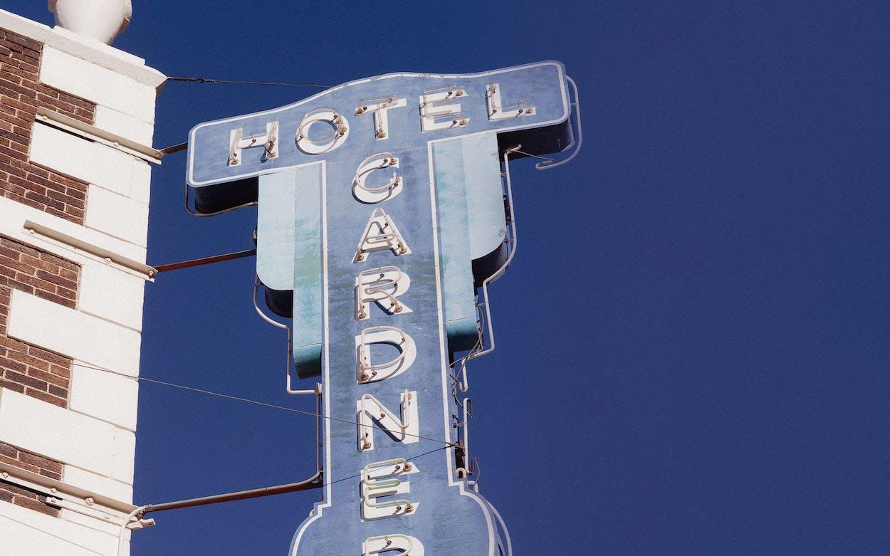 Hotel Gardner in El Paso.