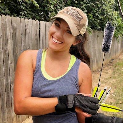 TikTok archery star Jen Delaney