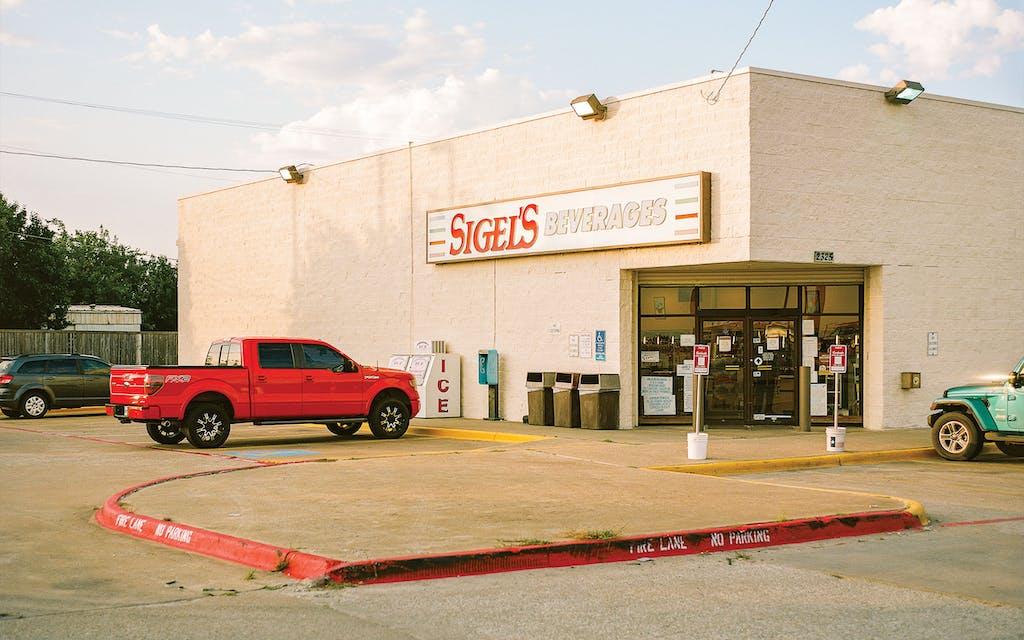 The exterior of Sigel's Beverages on June 26, 2021.