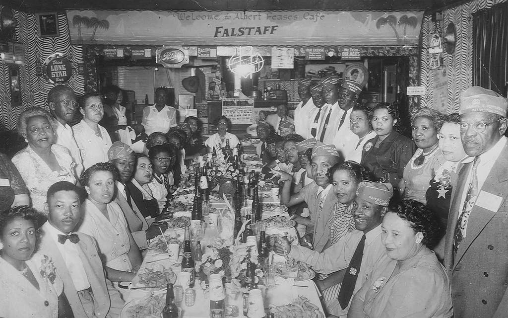 Albert Fease's Cafe Lost Restaurants of Galveston's African American Community