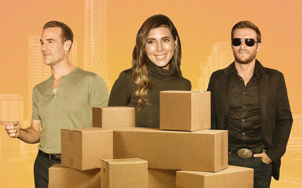 B-List Celebrities Moving to Austin