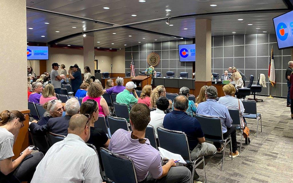 CRT Texas Montgomery County school board meeting