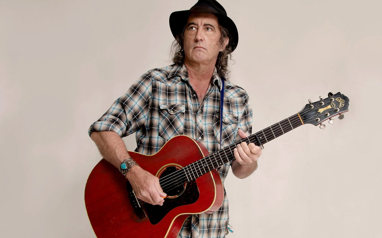 Portrait of James McMurtry