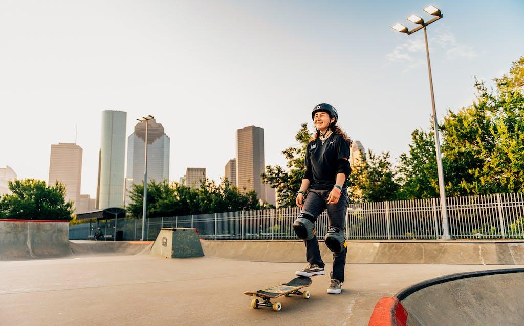 Jordan Santana skateboard Houston