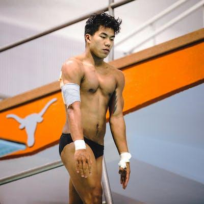 Jordan Windle UT Olympic Diver