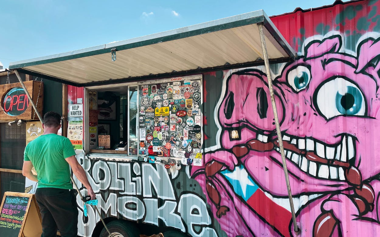 Rollin Smoke BBQ East Austin