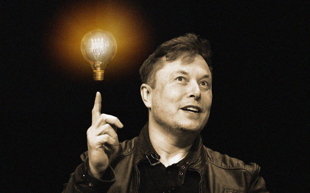 Elon Musk Wants to Sell Texans Electricity