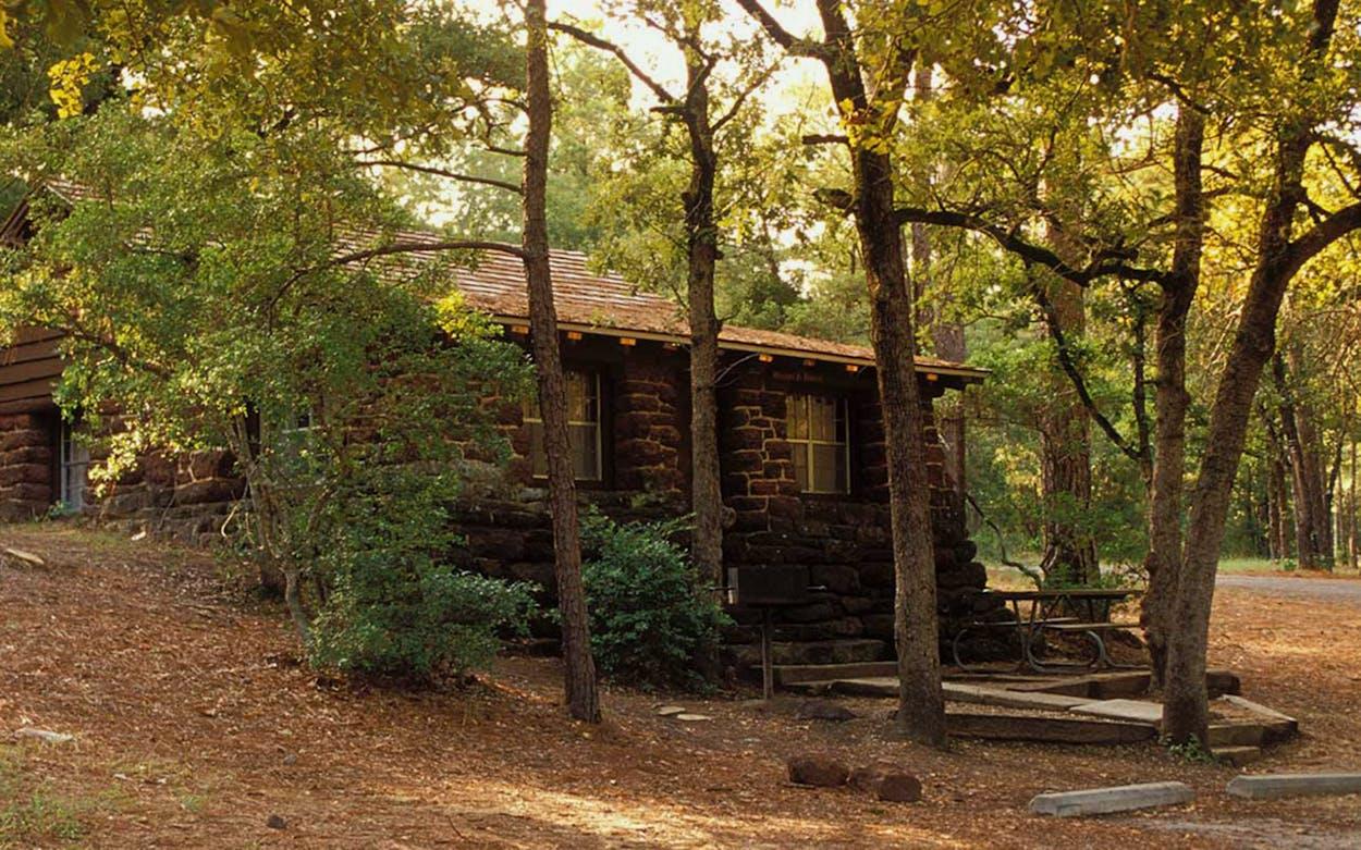 Bastrop State Park.