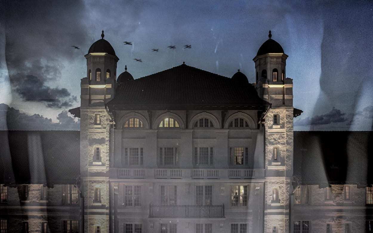 The Grand Galvez, in Galveston, on August 10, 2021.