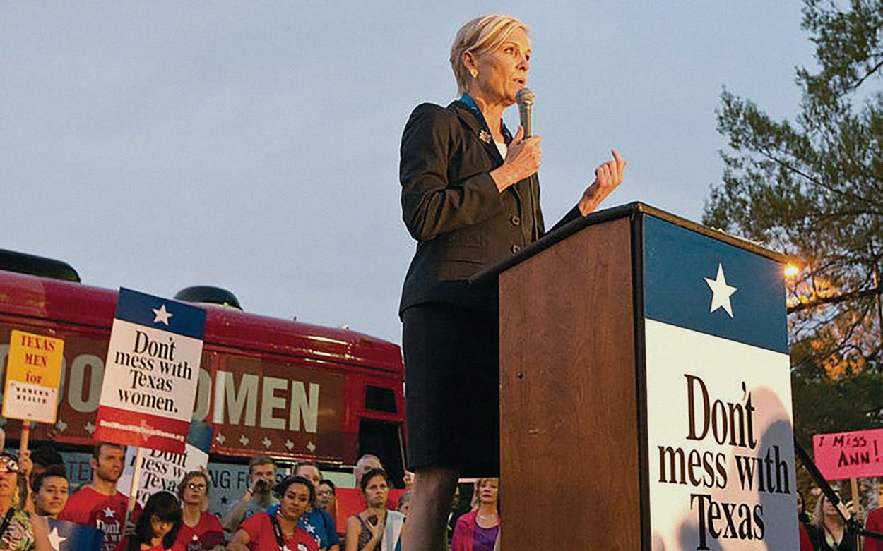 Womens Health Cecile Richards Texas Planned Parenthood