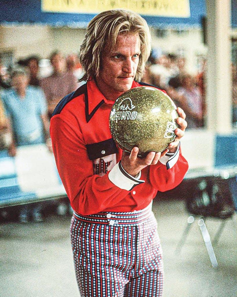 Harrelson as Roy Munson in the 1996 film 'Kingpin.'