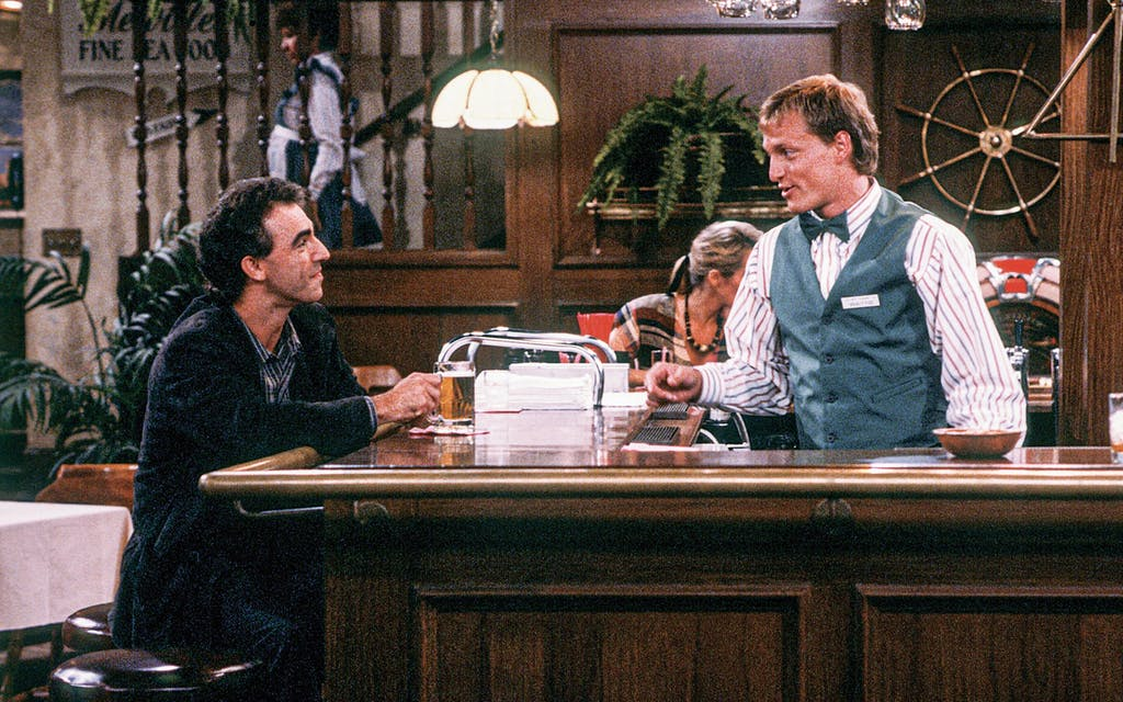 Woody Harrelson played bartender Woody Boyd in the television show Cheers from 1985 to 1993.
