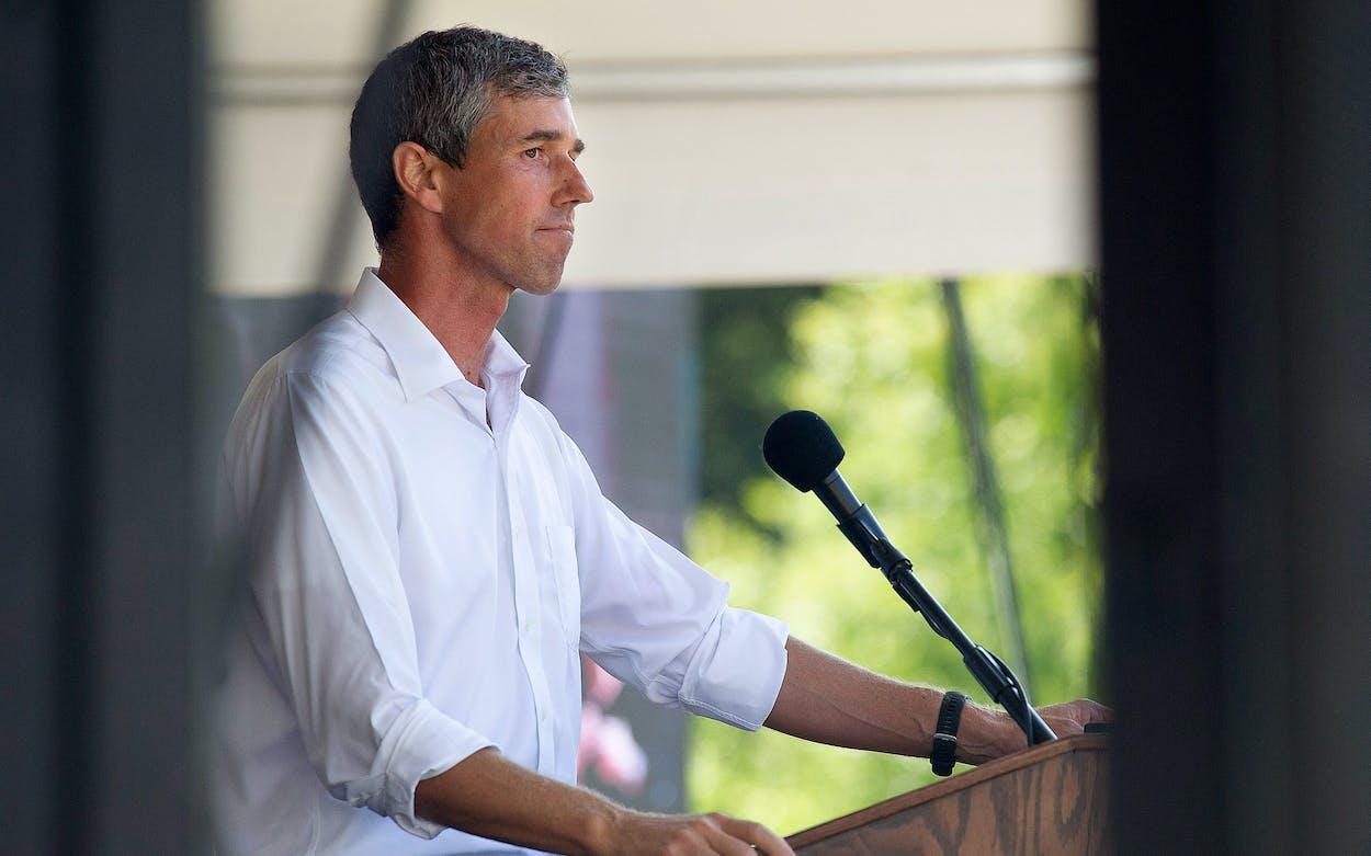 Beto O'Rourke challenging Greg Abbott for governor