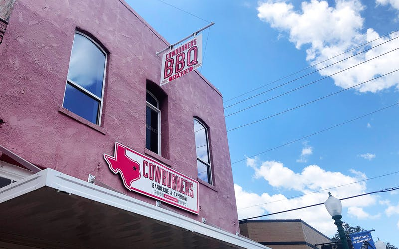 CowBurners BBQ & Taproom in Mineola