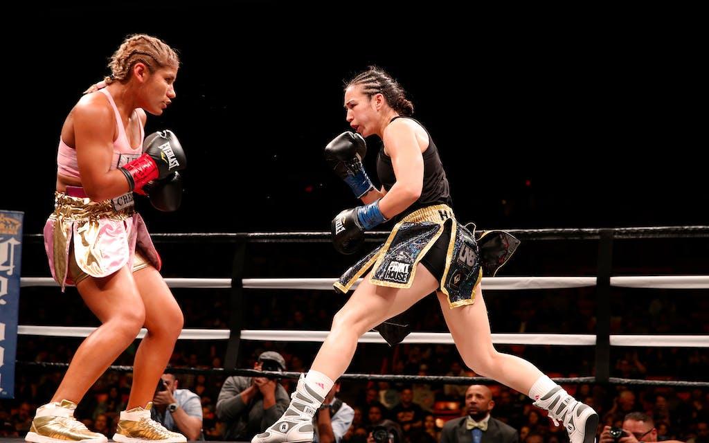 El Paso boxer Jennifer Han