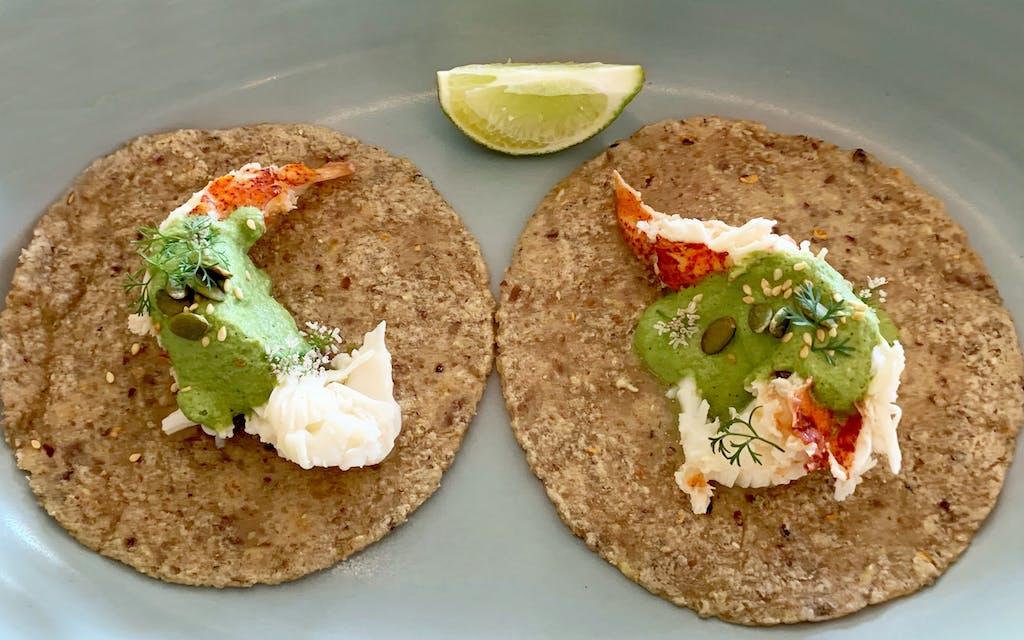 Lobster tacos at José sur Lovers