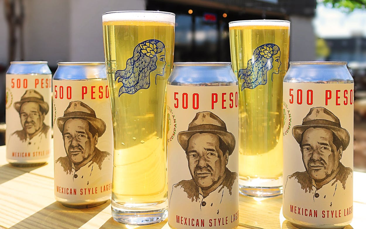 """The Odd Muse Mexican Lager, """"500 Pesos"""""""