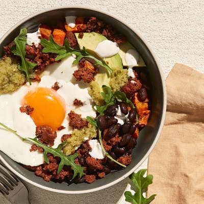 In Season Fall Recipes Sweet Potato Breakfast Bowl