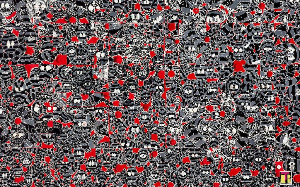 2021 Texas Biennale San Antonio Houston Visual Arts Trenton Doyle Hancock