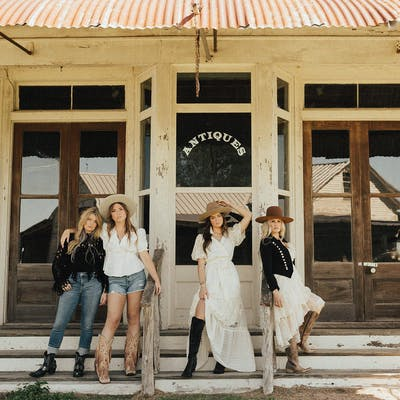 boho western style at Round Top