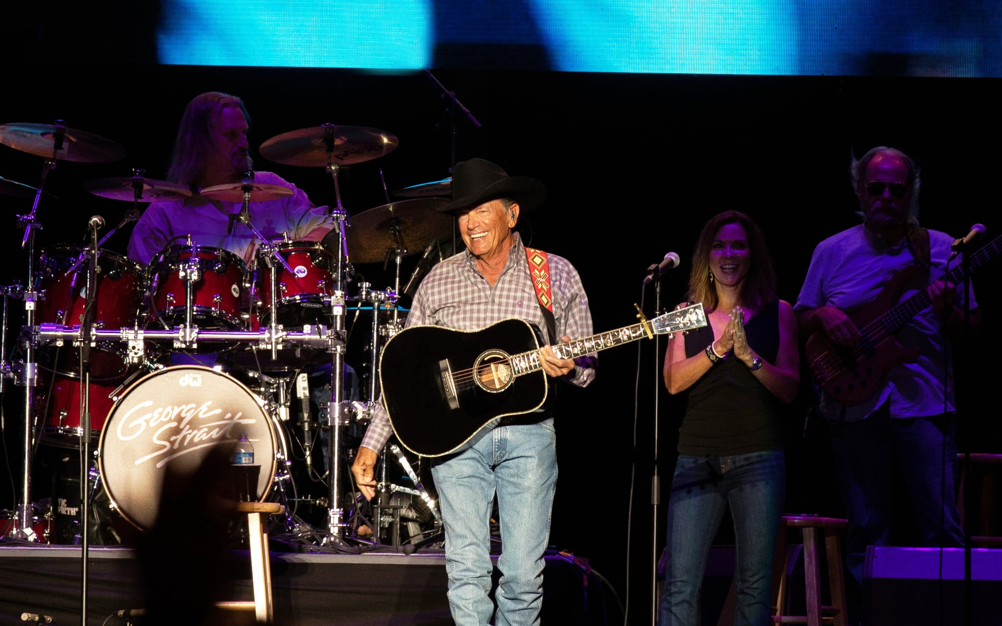 George Strait at ACL 2021.