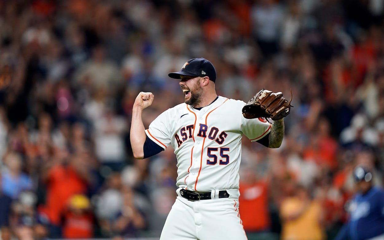Houston Astros' Ryan Pressly