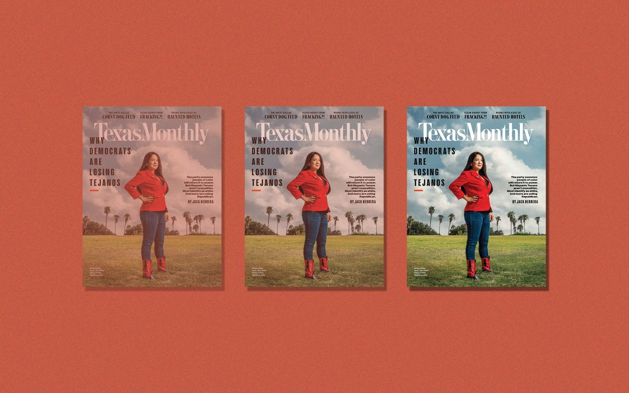 October cover Texas Monthly